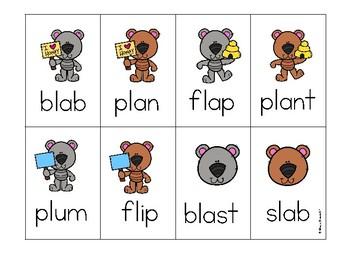 L-Blends Phonics Game