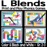 L Blends Phonics Games