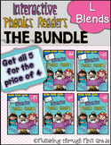 L Blends Phonics Readers  ~ BUNDLE
