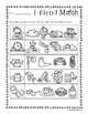 No Prep: L-Blends Picture Match Activity Sheets (L Blends)