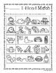 No Prep: L-Blends Picture Match Activity Sheets (L Blends)
