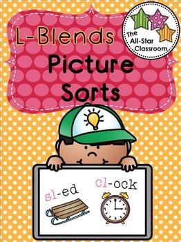 L-Blends Picture Sorts