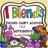 L Blends (Pocket Chart Activity and Worksheets)