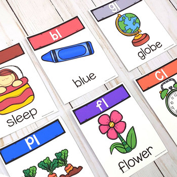 L Blends Printables and Anchor Charts