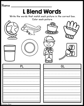 L Blends - Printables and Posters