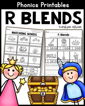 R Blends - Printables and Posters