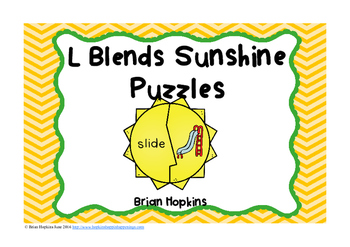 L Blends Puzzles Sunshines