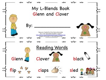 L Blends Reader: Glenn and Clover