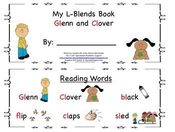 L Blends Reader: Glenn and Clover