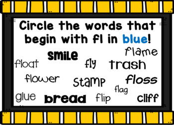 L Blends Smart Board Activities Phonics and Sounds