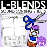L-Blends Sort {Phonemic Awareness Sorting Series, Set #4}
