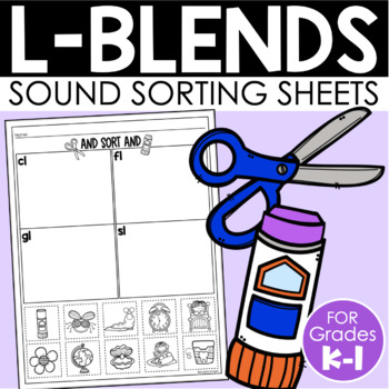L-Blends Sort {Phonemic Awareness Sorting Series, Set #4}