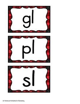 L-Blends Sorts Set 2: gl, pl, sl