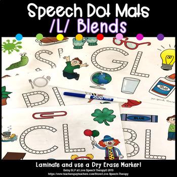 L Blends Speech Dot Mats