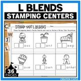 L Blends Worksheets for Stamping Center