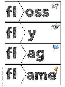 L Blends Activities / L Blends Word Work
