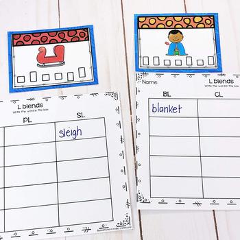 L Blends Task Cards/Scoot Games