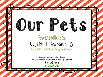 Wonders: Unit 1 Week 3 (L Blends)
