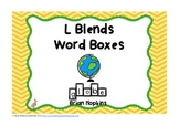 L Blends Word Boxes