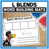 L Blends Word Building Mats