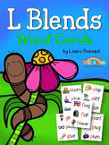 L Blends Word Cards