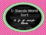 L-Blends Word Sort