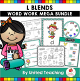 L Blends Word Work Mega Bundle