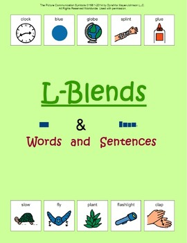 L-Blends: Words and Sentences
