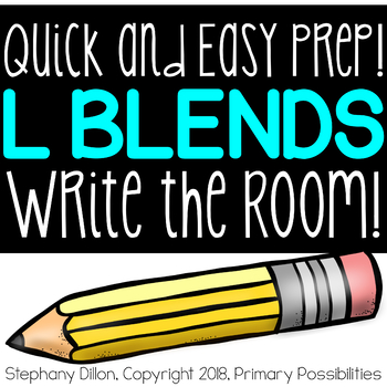 L Blends Write the Room