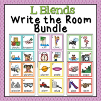 L Blends Write the Room Bundle