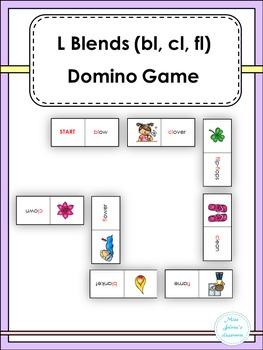 L Blends (bl, cl, fl, ) Domino Games