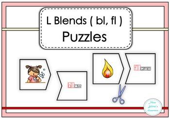 L Blends ( bl, fl ) Puzzles