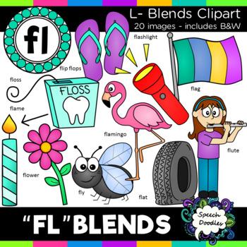 L Blends clipart - 130 images! Mega bundle of Bl, Cl, Fl, Gl, Pl and Sl blends