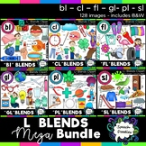 L Blends clipart - 130 images! Mega bundle of Bl, Cl, Fl, Gl, Pl and Sl blends