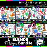 L Blends clipart - 130 images! Mega bundle of Bl, Cl, Fl,
