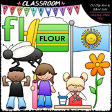 L Blends (fl) Phonics Clip Art - Consonants Clip Art