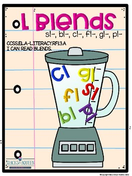 L Blends lessons and activities