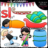 L Blends (sl) Phonics Clip Art - Consonants Clip Art