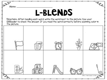 L-Blends with QR Codes