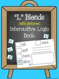 """L"" Blends (with pictures) Interactive Logic Book"