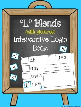 """""""L"""" Blends (with pictures) Interactive Logic Book"""
