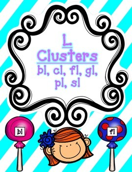 L Clusters (bl, cl, fl, gl, pl, sl) PACK!
