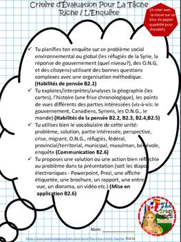 L'ENQUÊTE DE 5/6E ET LE GOUVERNEMENT