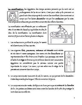 FSL L'Egypte Ancienne - Les croyances