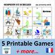 L'été / Les Vacances (French Summer Vacation Activities) BUNDLE