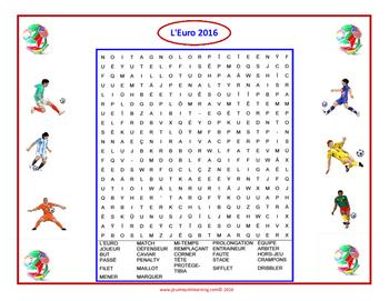 L'Euro 2016 Activités