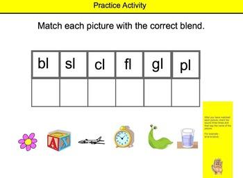 bl pl gl Sounds Game - Softschools.com