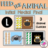 L Feed the Animal Words Initial Medial Final Articulation