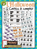 L'Halloween Cartes à compter (Counting Cards)