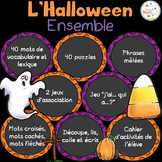 L'Halloween - Ensemble complet - French Halloween - Bundle